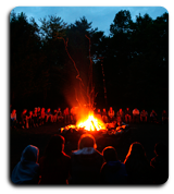 Scouts Camp Fire